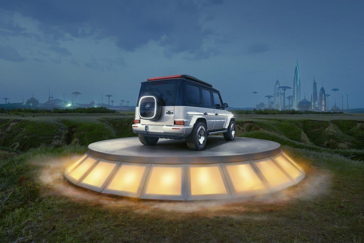 Mercedes G-Klasse. Jetzt auch elektrisch.